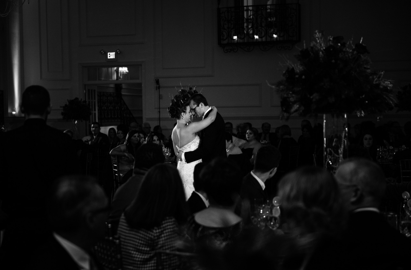 Brianna & Phil at Cescaphe Ballroom