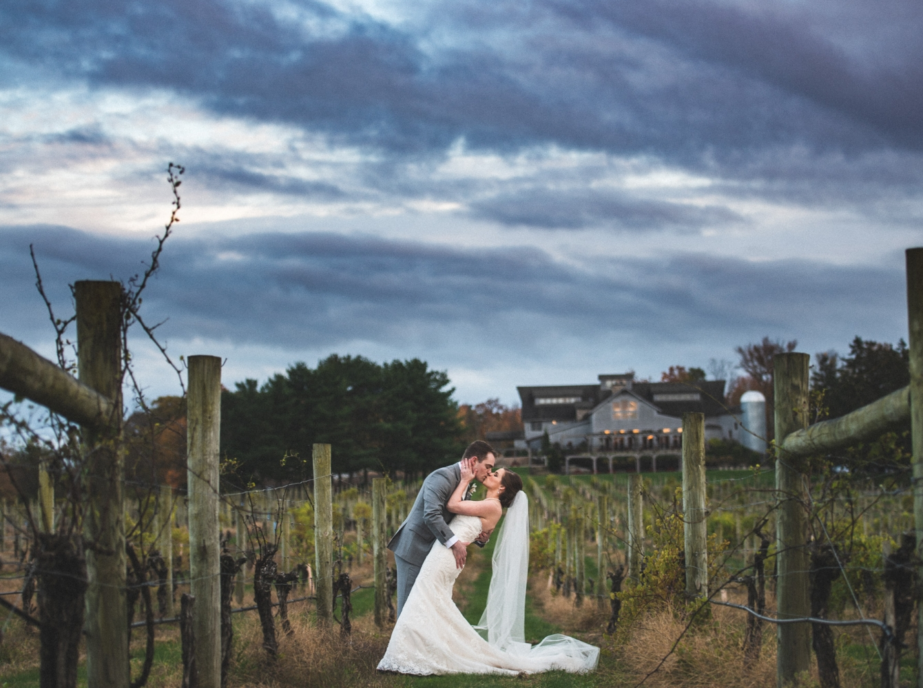 Christa & Kevin at Laurita Winery