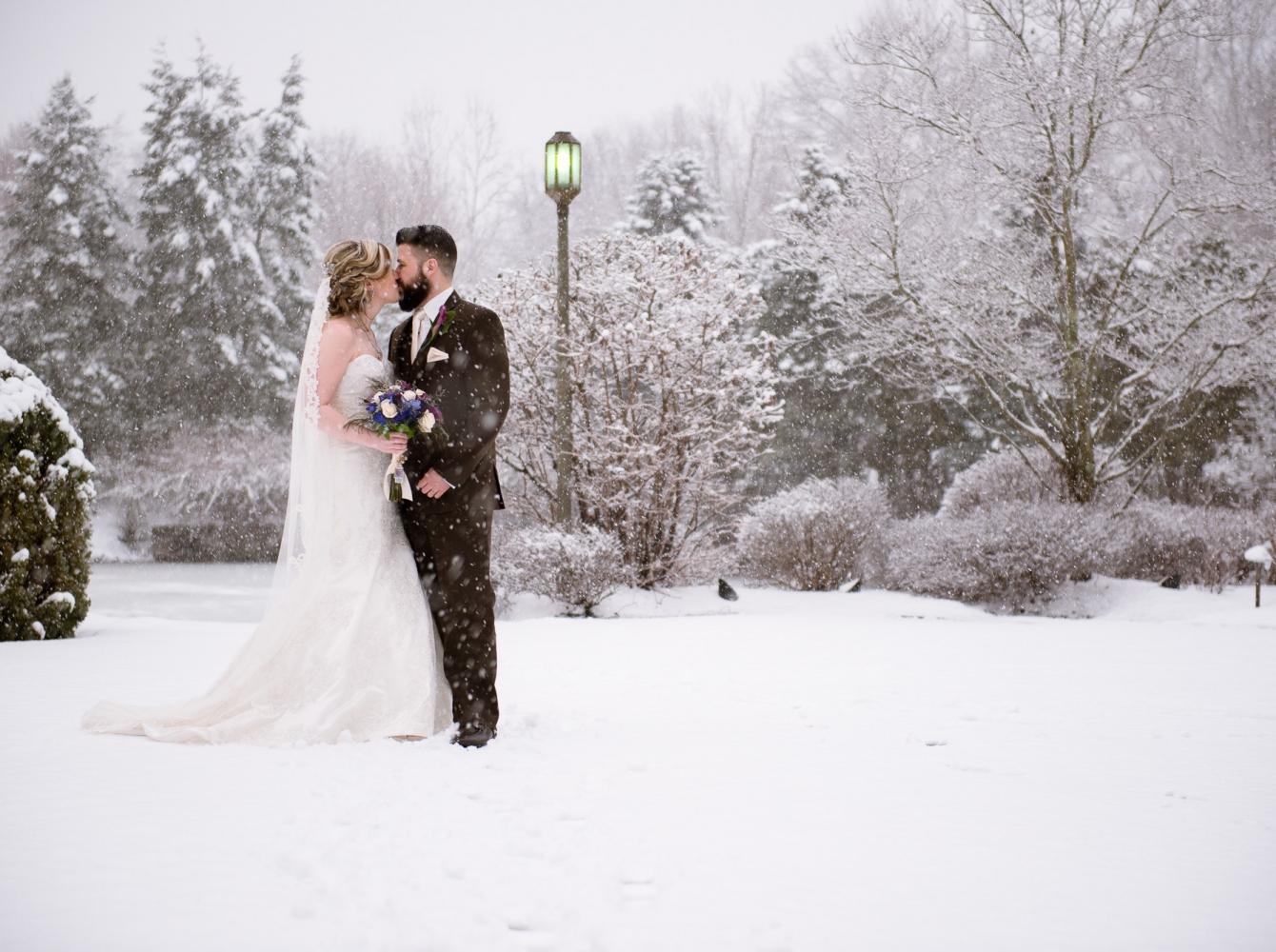 Jen & Steve at The Bridgewater Manor