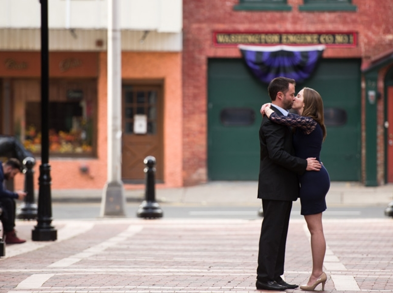 Morristown Engagement with Sara & Mike